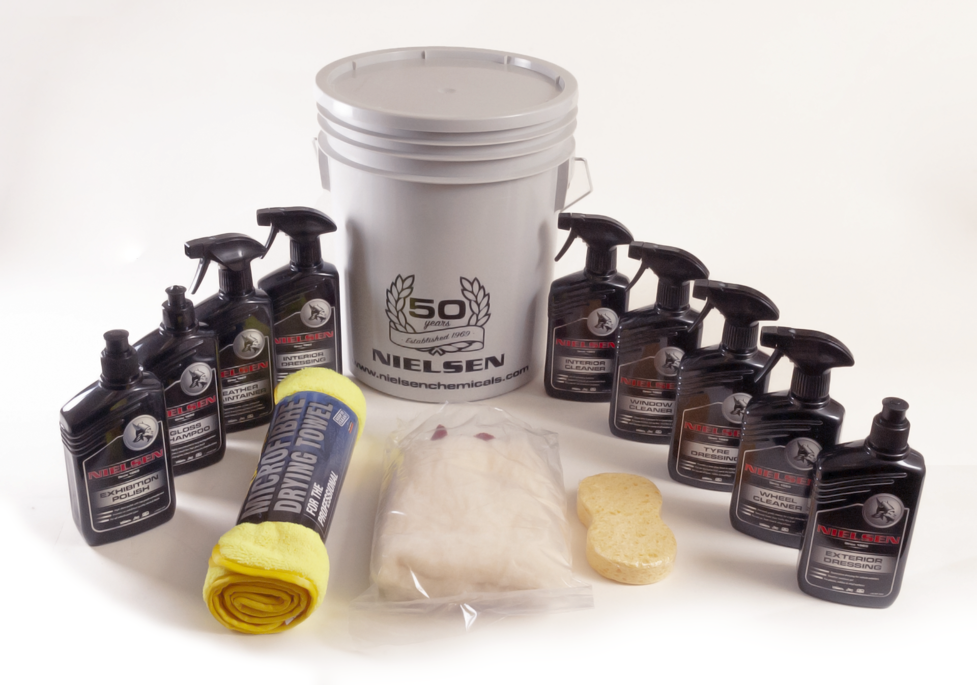 Nielsen 50th Anniversary Car Cleaning Pack