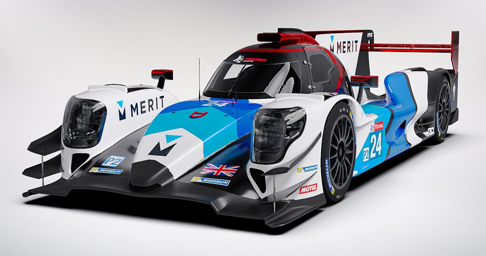 New livery angled - New livery for Nielsen Racing