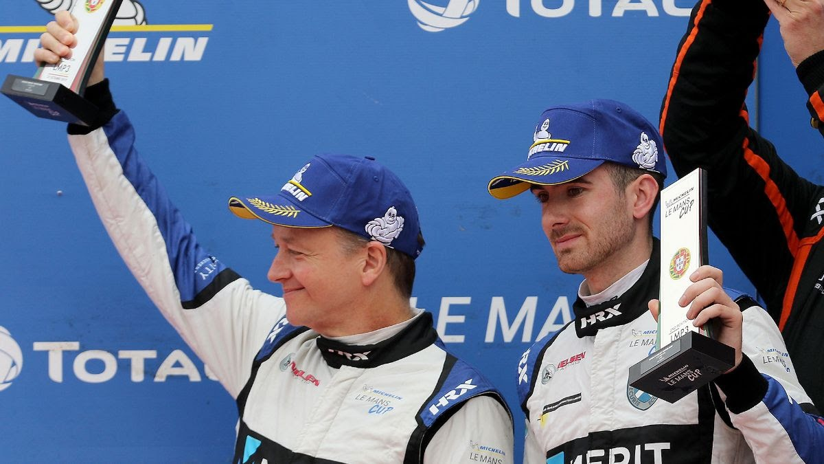 elms portugal 1 - A fifth podium for Nielsen Racing as Michelin Le Mans Cup season concludes in Portugal