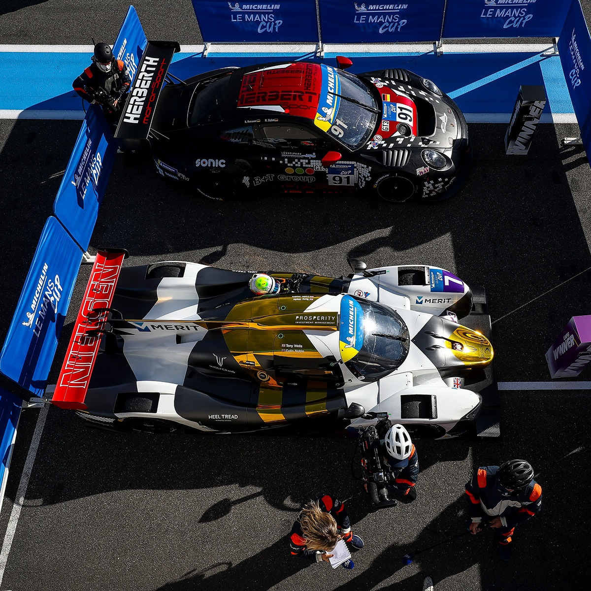 Nielsen Racing 5 - Wells and Noble shine in Le Mans Cup at Monza