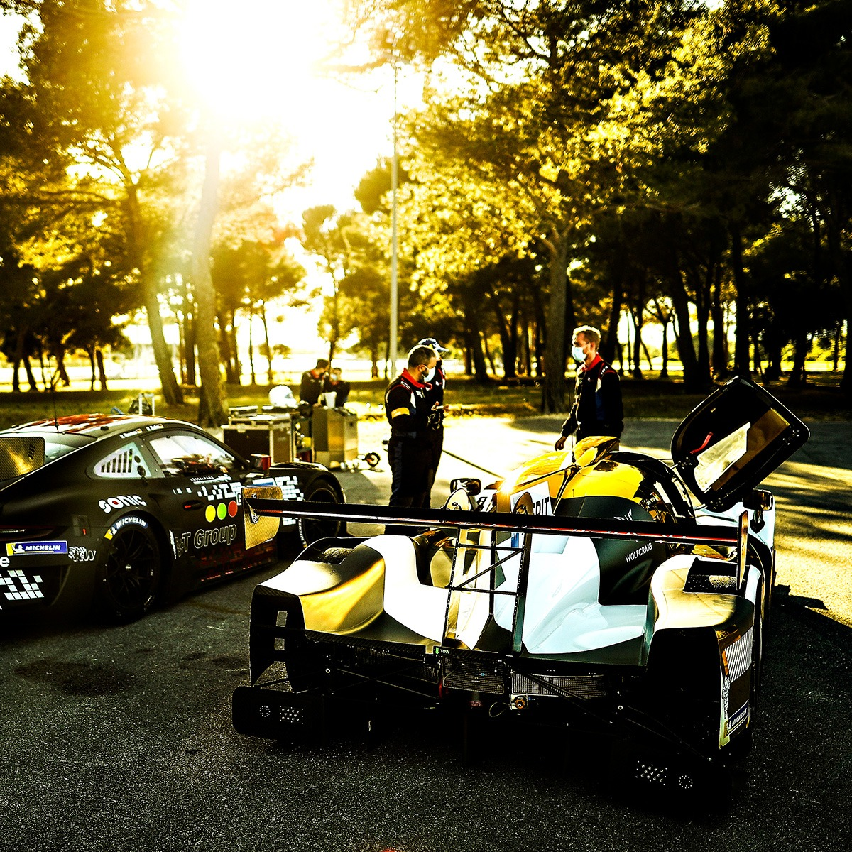Nielsen Racing 6 - Wells and Noble shine in Le Mans Cup at Monza