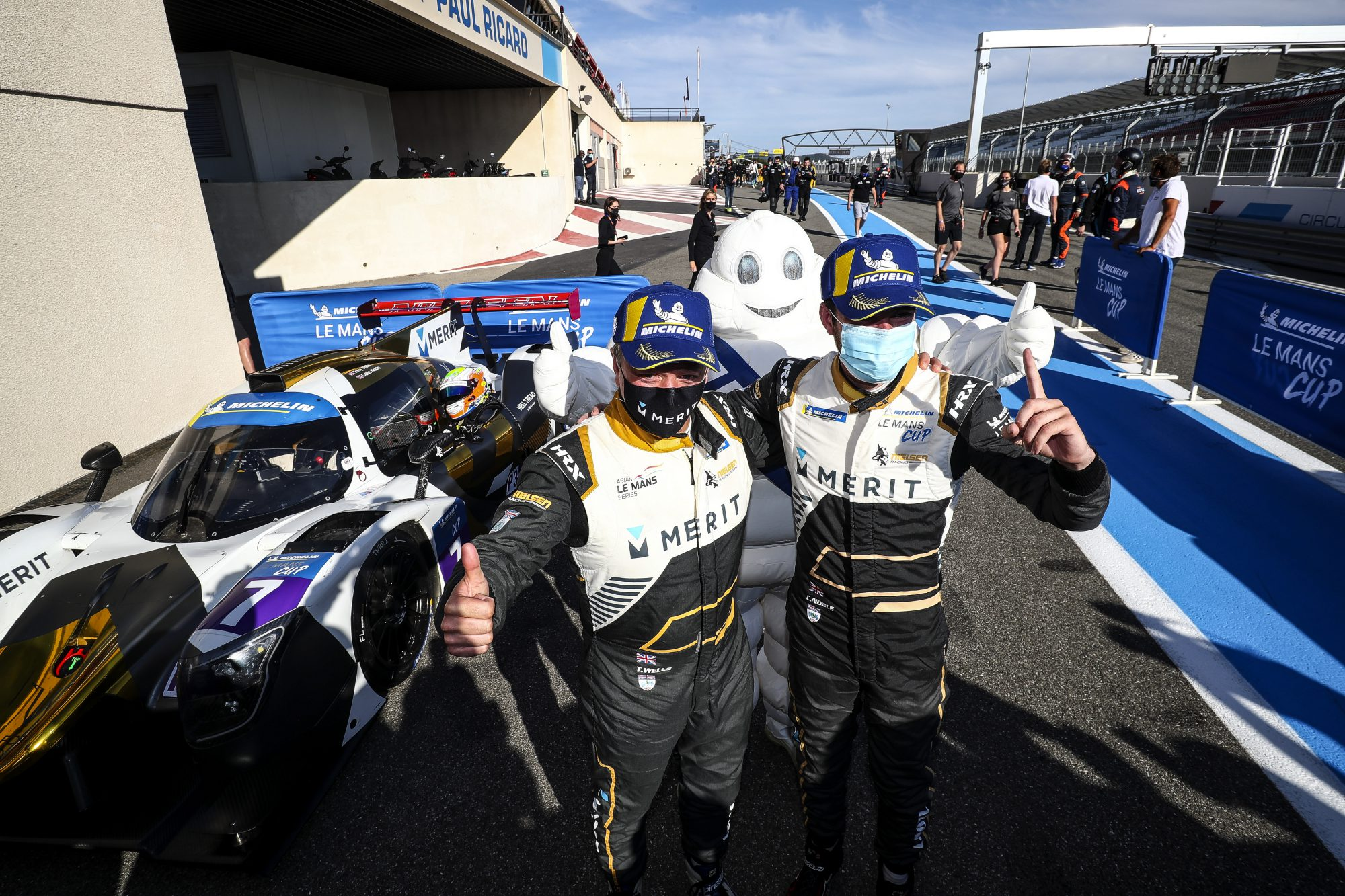 Nielsen Racing 7 - Wells and Noble shine in Le Mans Cup at Monza